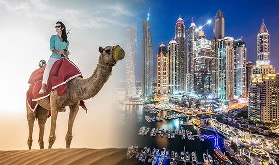 Why is Dubai so popular with tourists?