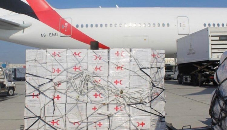 Shipment of more assistance from Dubai to Sudan