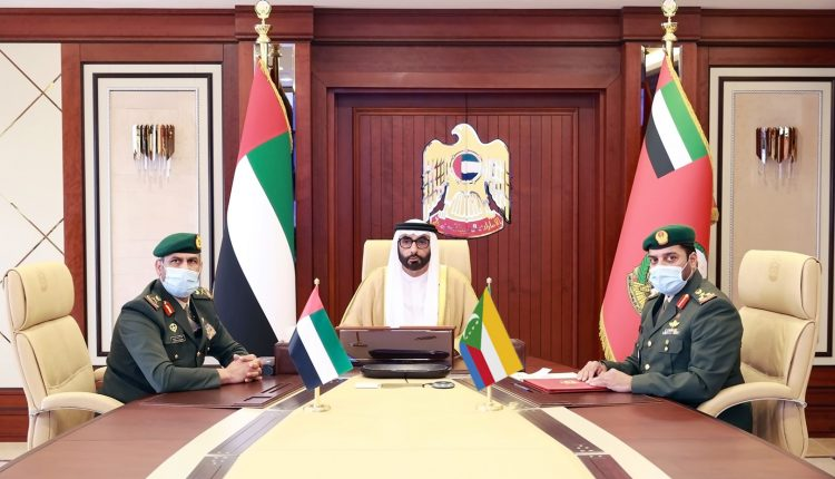 UAE and Comoros sign MoU on defense field cooperation