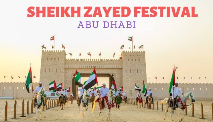 Abu Dhabi launches the Sheikh Zayed Heritage Festival