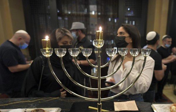 The UAE celebrates the first Open Hanukkah